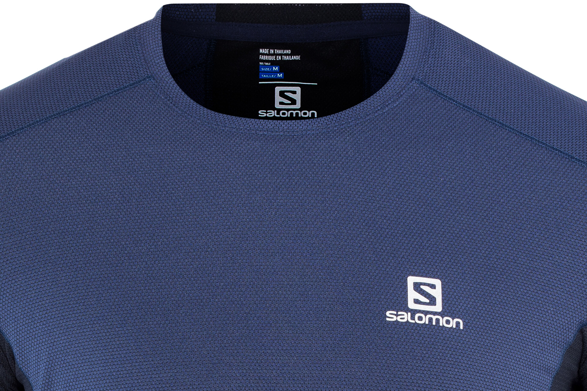 Salomon Trail Runner LS Tee Herren medieval bluenight sky